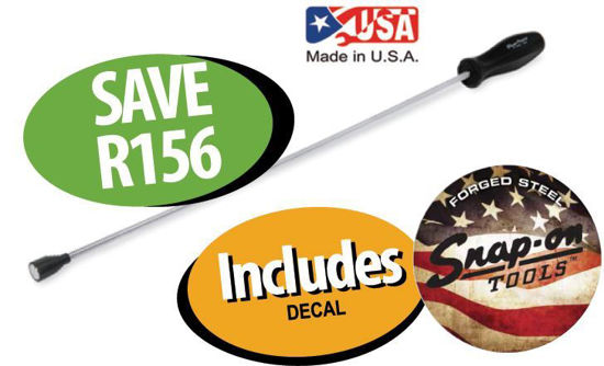 Picture of XXDEC216 Magnetic Flexible Pick-up Tool Includes Decal