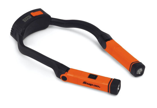Picture of ECHDC038O - Rechargeable Hands-Free Neck Light (Orange)