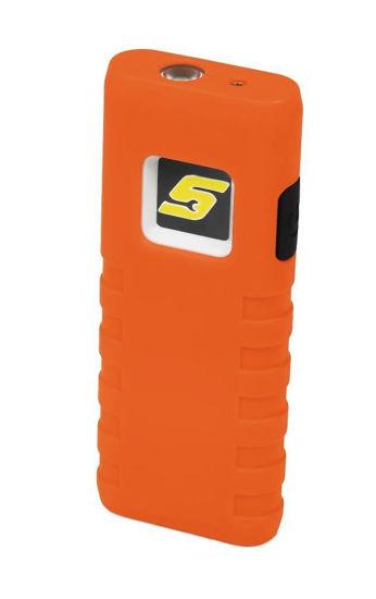 Picture of ECSPB023O - COB LED Pocket Flood/ Flashlight with Laser Pointer (Orange)