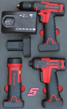 Picture of MOD.443SH42D - 14.4V Drill, Screwdriver & Light Set; 8Pc