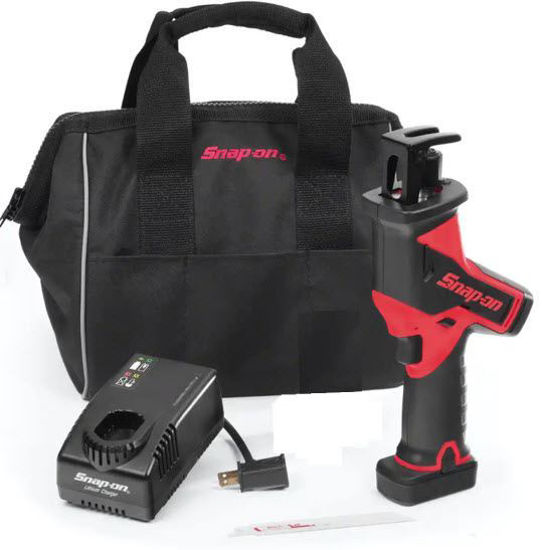 Picture of CTRS761AU1-WO - 14.4V MicroLithium Cordless Reciprocating Saw Kit with 1 x Battery (Red)