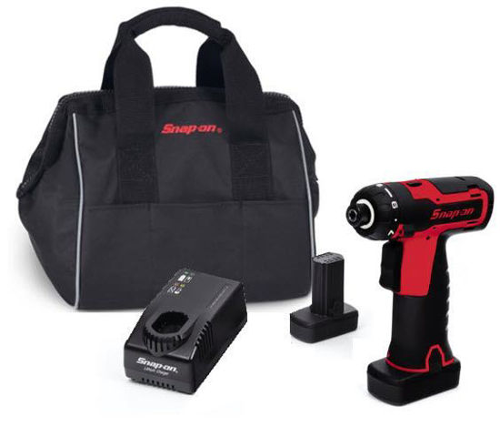 """Picture of CTS761AU2-WO - 14.4V 1/4"""" Hex MicroLithium Cordless Screwdriver Kit (Red)"""