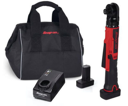 """Picture of CTSR761U2-WO - 14.4V 1/4"""" MicroLithium Cordless Right Angle Screwdriver Kit (Red/Black)"""