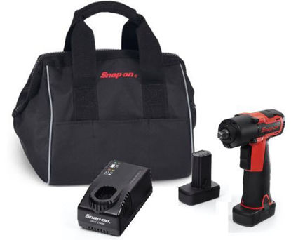 """Picture of CT761AU2-WO - 14.4V 3/8"""" Drive MicroLithium Cordless Impact Wrench Kit - Red"""