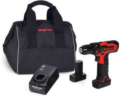 """Picture of CDR861U2-WO - 14.4V 3/8"""" Brushless MicroLithium Drill Kit - Red"""