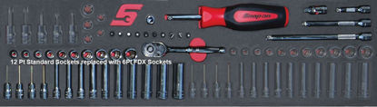 """Picture of MOD.149SH45SF-X - 1/4"""" General Service Set with FDX Sockets; 41Pc - Imperial"""