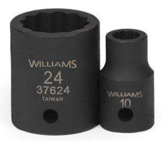 """Picture of WIL36608 - 3/8"""" Impact Shallow Socket 6Pt 8mm"""