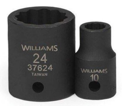 """Picture of WIL37612 - 1/2"""" Impact Shallow Socket 12Pt 12mm"""