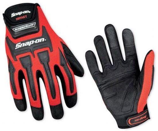 Picture of GLOVE501RMA - Impact Supercuff® Gloves - Red - Medium