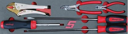 Picture of MOD.159SH45S - Screwdriver and Plier Set; 6Pc