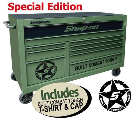 Picture of XXMAY153 10 Drawer Classic X-Wide Built Combat Tough Special Edition Roll Cab Includes T-shirt & Cap