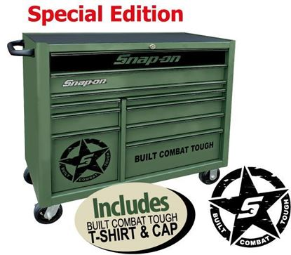 Picture of XXMAY154 10 Drawer Wide Built Combat Tough Special Edition Roll Cab Includes T-shirt & Cap