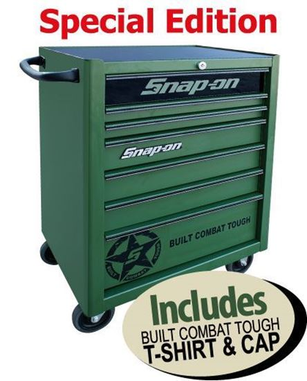 Picture of XXMAY155 7 Drawer Standard Built Combat Tough Special Edition Roll Cab Includes T-shirt & Cap