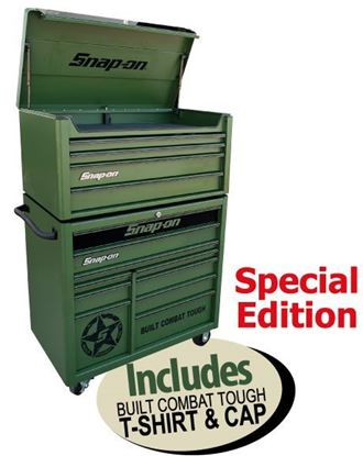 Picture of XXMAY156 14 Drawer Built Combat Tough Special Edition Combo Includes T-shirt & Cap
