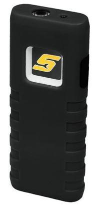 Picture of XXJUN119 Black COB LED Pocket Light with Laser Pointer