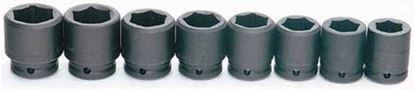 """Picture of WILMS-6-8H - 3/4"""" Standard 6Pt Impact Socket Set 19-41mm; 8Pc - Metric"""