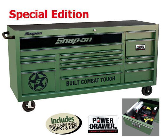 Picture of XXMAY150 Power Drawer Option (15 Drawer) XX-Wide Built Combat Tough Special Edition Roll Cab Includes T-shirt & Cap