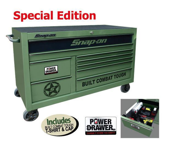 Picture of XXMAY151 Power Drawer Option (9 Drawer) X-Wide Built Combat Tough Special Edition Roll Cab Includes T-shirt & Cap