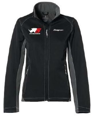 Picture of JACKETRNOFSO-L - Jacket Iberico Ladies Black Rhino Logo - Large