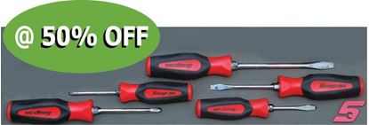 Picture of XXJUN122 5pc Screwdriver Set Supplied in foam insert with Set Expansion options