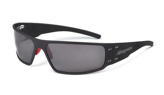 Picture of SOFFBKSM02 - Sunglasses Forty-Five Black Frame Smoke Lens Polar