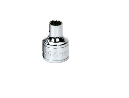 """Picture of WIL31506 - 3/8"""" Shallow Socket 6Pt 6mm"""