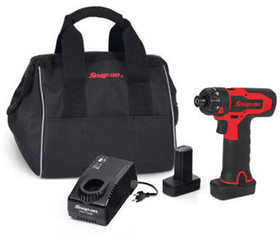 """Picture of CTS825U2-WO - 14.4V 1/4"""" Hex MicroLithium Brushless Cordless Screwdriver Kit - Red"""