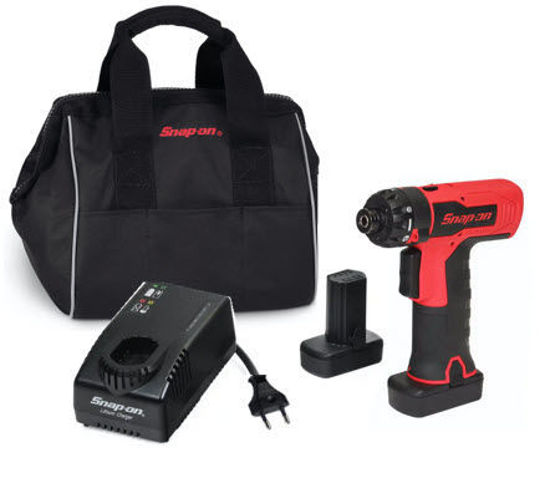 """Picture of CTS861U2-WO - 14.4V 1/4"""" MicroLithium Brushless Toggle Screwdriver Kit - Red"""