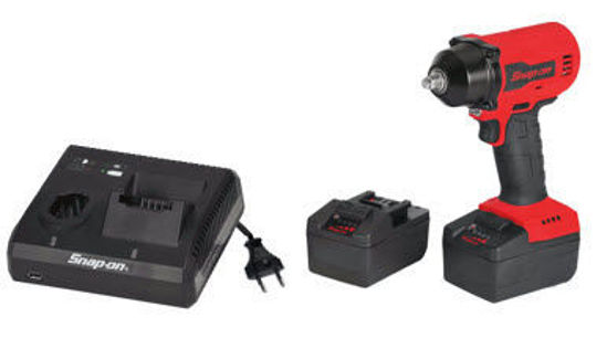 """Picture of CT9010U2-WO - 18V 3/8"""" Drive MonsterLithium Brushless Cordless Impact Wrench Kit - Red"""