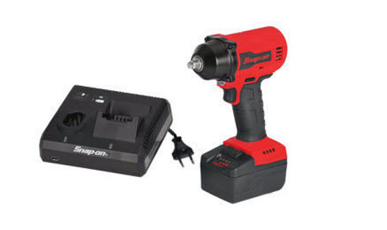 """Picture of CT9010U1-WO - 18V 3/8"""" Drive MonsterLithium Brushless Cordless Impact Wrench Kit - Red"""