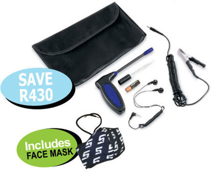 Picture of XXSEP113 Mini Electronic Stethoscope Includes FACE MASK
