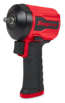 """Picture of PT338 - 3/8"""" Drive Stubby Air Impact Wrench - Red"""