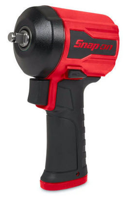 """Picture of PT350 - 1/2"""" Drive Stubby Air Impact Wrench - Red"""