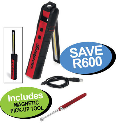 Picture of XXOCT124 800 LUMEN DUAL-SIDED FLEX LIGHT Includes MAGNETIC PICK-UP TOOL
