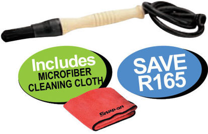 Picture of XXOCT122 Parts Cleaner Brush Includes Microfiber Cleaning Cloth