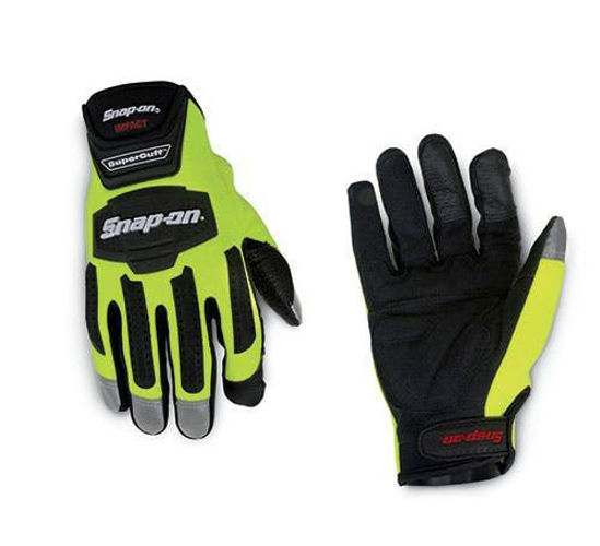 Picture of GLOVE501HLA - Hi-Visibility Impact SuperCuff Gloves - Large