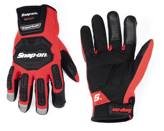 Picture of GLOVE501RMC -  Impact Supercuff® Glove (Red) - Medium