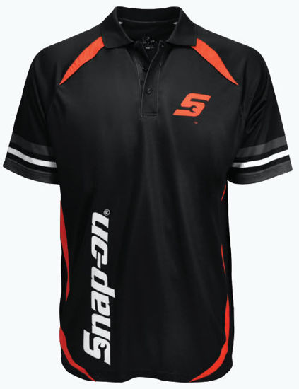 Picture of SNP1469-M - Black / Red / Grey Sport Shirt - Medium