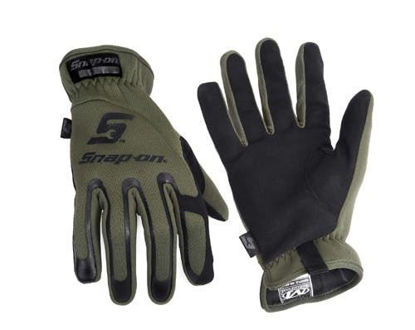 Picture of GLOVECG1XX - Fast Fit Technician Gloves (Green) - 2XLarge