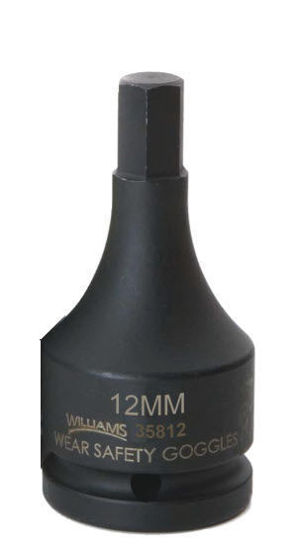 """Picture of WIL35819 - 3/4"""" Impact Hex Bit Socket 19mm"""