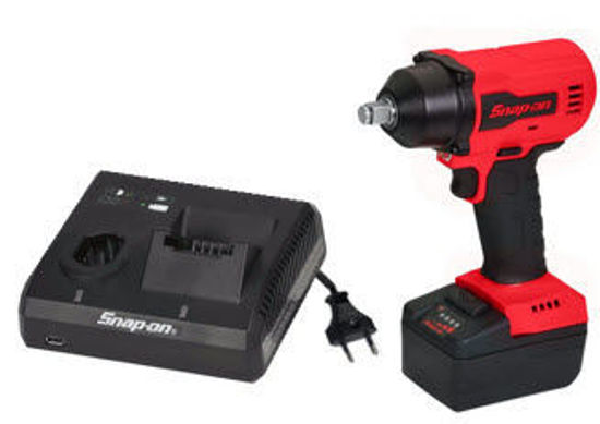 """Picture of CT9015U1-WO - 18V 1/2"""" Drive MonsterLithium Brushless Cordless Impact Wrench Kit with one Battery (Red)"""