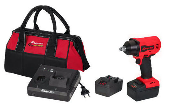"""Picture of CT9015U2-WO - 18V 1/2"""" Drive MonsterLithium Brushless Cordless Impact Wrench Kit with 2 x Batteries (Red)"""