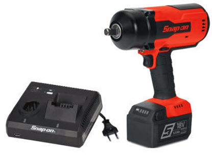 """Picture of CT9075U1-WO - 18V 1/2"""" Brushless Impact Kit with Single Charger and One Battery - Red"""