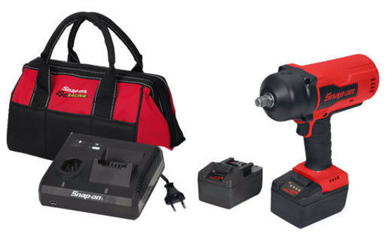 """Picture of CT9080U2-WO - 18V 1/2"""" Drive MonsterLithium Brushless Cordless Impact Wrench Kit with 2 x Batteries (Red)"""