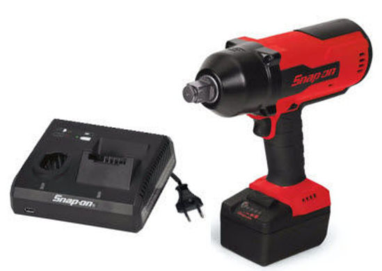 """Picture of CT9100U1-WO - 18V 3/4"""" Drive MonsterLithium Brushless Cordless Impact Wrench Kit with one Battery (Red)"""