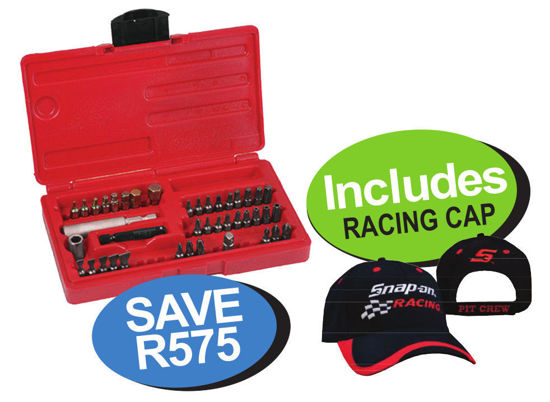Picture of XXNOV107 Master Metric Screwdriver Bit Set Includes Racing Cap