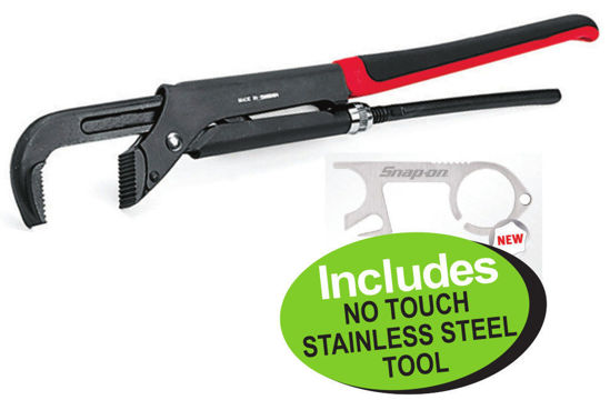 Picture of XXNOV109 Adjustable Plier (425mm) Max Jaw width 60mm Includes No Touch Stainless Steel  Tool